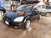 Kia Rio 2004 Sedan Black | Cars for sale in Lagos State, Lagos Mainland