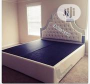 Upholstered Sofa's Bed Frame With Mirror | Home Accessories for sale in Lagos State, Lekki Phase 2