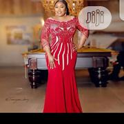 New Female Classic Turkey Red Dinner Long Gown | Clothing for sale in Lagos State, Ikeja