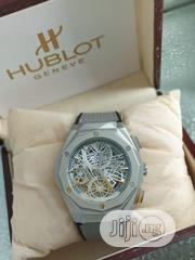 Hublot Gray Leather Watch | Watches for sale in Lagos State, Agboyi/Ketu