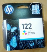 HP 122 Tri-Colour Ink Cartridge | Accessories & Supplies for Electronics for sale in Lagos State, Ikoyi