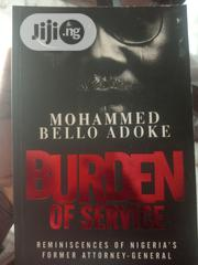 Burden Of Service | Books & Games for sale in Lagos State, Lagos Mainland