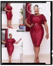 New Classic Female Turkey Wine Dress | Clothing for sale in Lagos State, Amuwo-Odofin