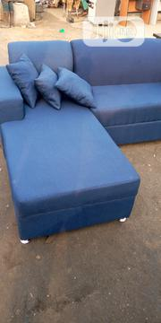 L Shape Sofa Chair Blue | Furniture for sale in Lagos State, Surulere