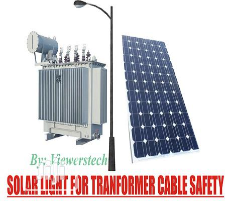 Solar Light For Street Transformer Cable Safety With Installation