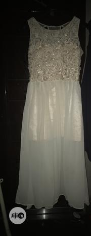 Cosarge Beige Chiffon Maxi Size 16 UK | Clothing for sale in Rivers State, Port-Harcourt