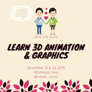 Learn 3D Animation And Graphics Design. | Classes & Courses for sale in Lagos State, Lekki Phase 1