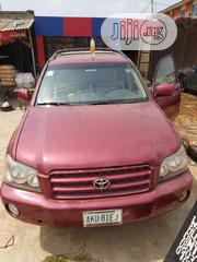 Toyota Highlander 2002 Red | Cars for sale in Lagos State, Ikeja