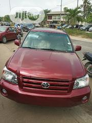 Toyota Highlander 2006 Limited V6 4x4 Red | Cars for sale in Lagos State, Lagos Mainland
