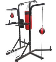 Brand New Imported Power Tower With Punching Bag and Speed Ball | Sports Equipment for sale in Abuja (FCT) State, Jabi