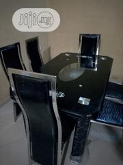 Exquisite Dining Table With Marble Chairs - Complete Set | Furniture for sale in Anambra State, Nnewi