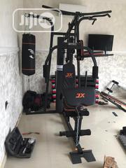 Brand New Imported JX 3 Station Multi Home GYM. Nationwide Delivery | Sports Equipment for sale in Lagos State, Surulere