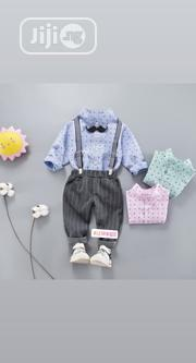 Boys Outfit With Suspender and Bow Tie | Children's Clothing for sale in Lagos State, Ikorodu