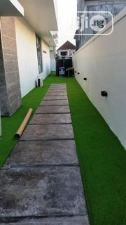 Walkway Design With Synthetic Grass | Landscaping & Gardening Services for sale in Lagos State, Ikeja