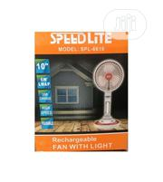 SPEEDLITE Quality Mini Rechargeable Fan With Lamp | Home Appliances for sale in Lagos State, Lagos Island