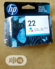 HP 22 Tri-colour Ink Cartridge | Accessories & Supplies for Electronics for sale in Lagos State, Ikoyi