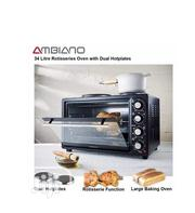 Ambiano 34L Mini Oven and Twin Hobs | Kitchen Appliances for sale in Lagos State, Ojo