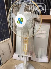Rechargeable DC Solar Fan Available | Solar Energy for sale in Lagos State, Ojo