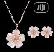 The Opal Blossom Necklace Earring Two Set Decoration Suit Je | Jewelry for sale in Ogun State, Ewekoro