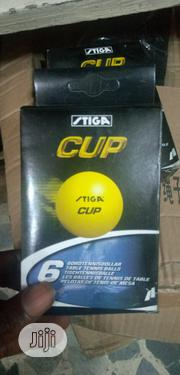 High Quality Stiga Table Tennis Balls 6 In 1 | Sports Equipment for sale in Lagos State, Surulere