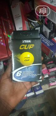 High Quality Stiga Table Tennis Balls 6 in 1 ITTF Approved | Sports Equipment for sale in Lagos State, Lekki Phase 1
