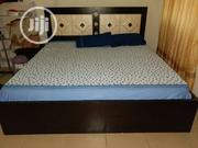 6*6 Very Strong Bedframe And 2 Side Drawers For Sale | Furniture for sale in Abuja (FCT) State, Gwarinpa