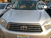 Toyota Highlander 2008 4x4 Silver | Cars for sale in Abuja (FCT) State, Central Business District