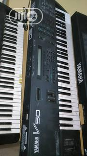 YAMAHA V50 Synthesizer Keyboard (London Use) | Musical Instruments & Gear for sale in Lagos State, Ojo