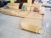 L Shape Sofa Brown | Furniture for sale in Lagos State, Ojo
