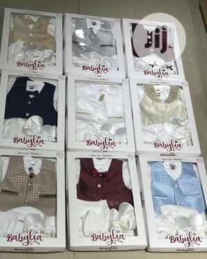 5 Peices Christening Cloth