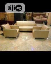3 Piece Leather Sofa | Furniture for sale in Lagos State, Lagos Island