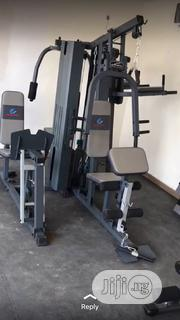 Brand New Imported Five Multi Station GYM With Complete Accessories | Sports Equipment for sale in Lagos State, Surulere