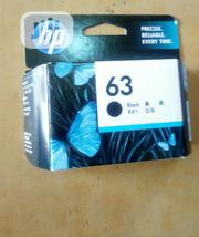 HP 63 Black Cartridge | Accessories & Supplies for Electronics for sale in Lagos State, Lekki Phase 2