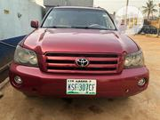 Toyota Highlander 2003 Red | Cars for sale in Lagos State, Ojota