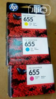 HP 655 Colour Ink Cartridge | Accessories & Supplies for Electronics for sale in Lagos State, Victoria Island