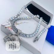 Iced Necklace | Jewelry for sale in Lagos State, Lekki Phase 1