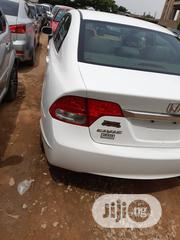 Honda Civic 2009 LX Automatic White   Cars for sale in Kano State, Kano Municipal