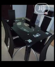 Supermax 6seat Glass Dinning Table Set.   Furniture for sale in Abuja (FCT) State, Central Business District