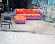 L Shape Chairs With Three Pillow | Furniture for sale in Oyo State, Ibadan