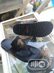 Real Black Leather Design Upper   Shoes for sale in Lagos State, Orile