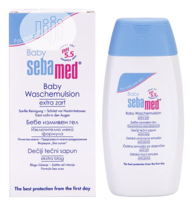 Sebamed Baby Wash Extra-Gentle Cleansing for Body and Hair 200ml