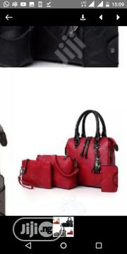 Cute 4 in One Red Handbag | Bags for sale in Lagos State, Isolo
