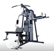 Brand New Imported Three Multi Station GYM With All Accessories | Sports Equipment for sale in Lagos State, Surulere