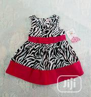Beverley Hills Princess Baby Girls Zebra Dress | Children's Clothing for sale in Lagos State, Victoria Island