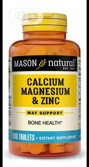 Mason Calcium Magnesium Zinc by 100 | Vitamins & Supplements for sale in Lagos State, Ikeja