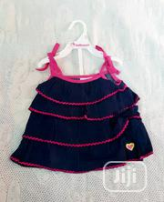 Dollhouse Baby Girls Denim Top Pant - 2 Piece Set   Children's Clothing for sale in Lagos State, Victoria Island