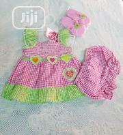 Baby Girls 3 Piece Set - Dress, Pant Slipper | Children's Clothing for sale in Lagos State, Victoria Island