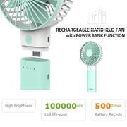 Rechargable Handheld Fan With Power Bank Function- | Accessories & Supplies for Electronics for sale in Oyo State, Egbeda