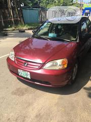 Honda Civic 2003 Red | Cars for sale in Lagos State, Ipaja