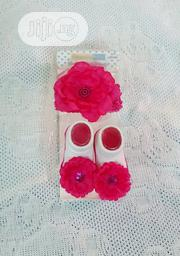 Baby Girls Matching Hair Band & Socks | Babies & Kids Accessories for sale in Lagos State, Victoria Island